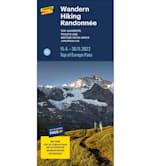 Wanderkarte Jungfrau Region