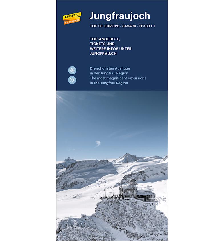 Jungfraujoch Prospekt