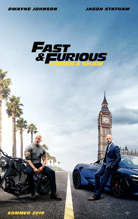 Fast & Furious: Hobbs & Shaw - 16. August 2019